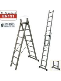Σκάλες Διπλές Επεκτεινόμενες