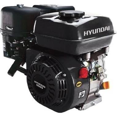 HYUNDAI 650Q  Κινητήρας βενζίνης 6,5HP με σχοινί & Σφήνα 19 mm (50C03)